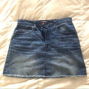 Madewell • Denim Mini Skirt